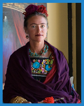 Colleen Webster as Frida Kahlo